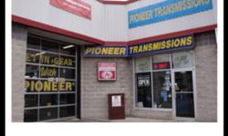 PIONEER TRANSMISSIONS 615 DAVENPORT RD                                     WATERLOO                         TRANSMISSION REBUILDING & REPAIRING                      CLUTCH REPLACEMENT                      DIFFERENTIAL REPAIRS                      TRANSFER