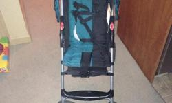 Great little travel stroller with basket underneath. Folds up super easy and very sturdy. $10 take it or leave it... Super deal!