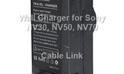 Travel Wall Charger for Sony NP-FV50 NP-FV70 NP-FV100 NP-FV30 Camera Batteries -Condition: New NON-OEM replacement -Foldable flat pin for easy storage -Smart charging LED indicator -Auto switching power voltage from 100V-240V AC -Includes universal