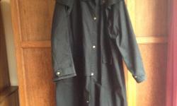 Wax Cotton Koolah Trench Coat size XXL