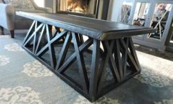 """Hand-crafted and brand new We are located at Bathurst & Bloor. H: 18"""" W:30"""" L:54"""" Price: $450 Call/text/Email Warm Regards, G&F"""