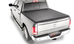 SOFT TRI-FOLD TONNEAU COVER $349.95 plus tax (ent301) ? * Comes completely assembled and installs without tools. * No assembly, no additional rails or hardware to install. * Easy to use, one person clamp system. Simply place on truck, secure clamps at