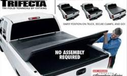 Custom Cargo Concept Inc. TRAILERS SALE-PARTS-ACCESSORIES-REPAIRS TRUCK/CAR ACCESSORIES   Trifecta soft tonneau cover, foldable ONLY 384.95* or 396.95$ installed   *Available for all pick-up size **Foldable hard cover also available   Call for details.