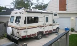 GOOD CLEAN RELIABLE UNIT..NO E-TEST NEEDED,PURRRRS LIKE A KITTEN...I HAVE OWNED THIS UNIT FOR NUMEROUS YEARS AND ALWAYS WINTER STORED INSIDE.. THE REASON FOR SELLING THIS UNIT IS WE UPGRADED.. 92000KM, SLEEPS 6, TRAILER TOW PKG, NEW TIRES, AWNING, NEWER