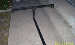 """Truck Bed Extender,custom made to enable carrying loads longer than your truck bed with tailgate down,adds extra safe carrying capacity to more than 14' , for carrying lumber etc...,slides and pins into any 2"""" receiver of hitch.Have heavy duty stainless"""