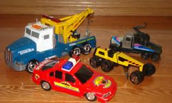 Trucks.....used but in great shape.