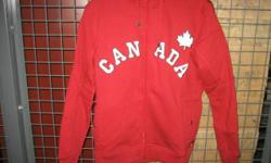 Brand New with Original tags attached $30.00 for one or $50.00 for two True North Hoodies (Red or Black) Size: large, medium and small Two pockets Zippered front 80 % cotton, 20% polyester