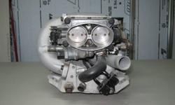 I have a complete chevy tune port injection unit that will fit chev.350. this unit comes with a painless wiring harness,mass air flow ,computer, all sensors, it has high flow runners, k&n air filter,  all the relays. EXCELLENT COND. asking $1300 call Doug