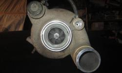 Have a turbo off a 2005 5.9 Cummins for sale. It was replaced for a aftermarket turbo, which now I don`t have the truck so I have no use for this turbo. It is a holset 1  OEM model he351. It only has 30,000 kms on it.  $400 firm please no low ballers,
