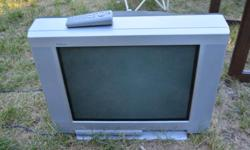 "1 tube TV's that works and a projection TV that may need a bulb Sony KV-20FS100 - 20"" Hitachi 50VS69A - 50"""