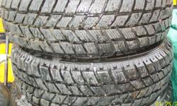 """Two used 175/65R14""""  Winter Tires Like new condition. Not studded. Tire brand name........ Handkook Pike RCC1. Price $70. takes the two of them. 744-2406 or 685-4939   Please view my other ads. View poster's other Ads on the right side of page. . """"I'LL"""