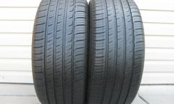 TWO (2) MICHELIN PRIMACY MXM4 TIRES SIZES /245/50/17/ ALL SEASON, GOOD TREAD REMAINING, ASKING $100 FOR BOTH TIRES ( NO E-MAILS ) CALL (613)882-4075