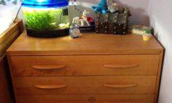 Two pine dressers with one matching desk for sale. Great for your children's bedroom. There are a few scratches, but otherwise in great shape. Dressers - 32 in. wide x 18 in. deep x 31 in. high Desk - 24 in. wide x 18 in. deep x 31 in. high