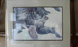 Two framed prints for sale. Both are Robert Bateman. $15 each or $25 for the pair.