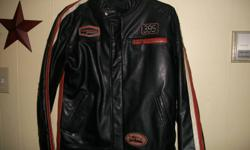 One is a bikers leather jacket size small will fit medium womens...and other is blazer style leather....size large....both in excellent condition....must see...asking 125.00 each obo....please e-mail.