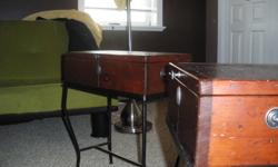 old mahogany end tables