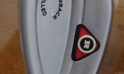 These wedges were used once. Just bought a set of three wedges. They are is great condition.These clubs feel really nice.