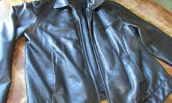 I have two nice Men's leather coats / jackets. Inside liner in One coat has a small tear(30$), the other coat is fine ($40). Both coats are size medium. Located in Egmont Bay, first come first serve.