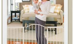 http://www.summerinfant.com/Products/Safety-Care/Security-Gates-Playard/Sure-Secure®-6-Foot-Metal-Expansion-Gate.aspx FOR SALE I HAVE **TWO** SURE&SECURE 6 FOOT METAL EXPANSION GATES, WITH WALK THROUGH DOOR FOR EASY ACCESS BETWEEN ROOMS. THEY ARE