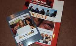 "Heyy! Up for sale are two copies of the Intro to Sociology textbook ""Society: the basics,"" by John J. Macionis, S. Mikael Hansson, and Cecilia M. Benoit. Used last year in one term. Bought brand new for $115. Selling for $90 each. Buy both for $175!"