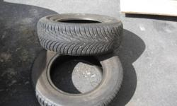 Two SW620 model number Goodride winter tires for sale. Tires are in excellent condition.  Hardly used $60.00. Original price was approximately $300.00 ?The optimized direction of sipes on the SW602 model provide more traction and excellent braking