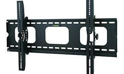 TygerClaw Heavy Duty Tilt Wall Mount With Extra Lock for 32-in. to 63-in Flat TV This TygerClaw LCD3032BLK Tilt wall mount is designed for most 32 in. to 63 in. flat-panel TVs up to 80 kg (176 lb.) with tilt degree from -15? to +15?, and is constructed
