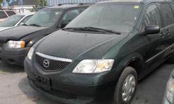 Make Mazda Colour Green Trans Automatic kms 220000 2003 MAZDA MPV : RUN & DRIVE, Automatic, Air-Conditioning, 7 Pass, SOME RUST. MORE CLEAROUT FIXER UPPER / BEATER CARS TO CHOOSE ALSO IN STORAGE VARIETIES OF LIGHTLY USED TIRES / RIMS PKGS, ALLSEASON &
