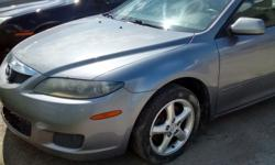 Make Mazda Colour Gray Trans Automatic kms 240000 FIXER UPPER HANDYMAN / MECHANIC SPECIAL ! 2008 MAZDA 6 SEDAN, AUTO, 4CYL- 2.0L, VERY CLEAN BODY/NO RUST ( NOISY ENGINE FROM TOP... NOT MISSING, NO LIGHT ON DASH ) MORE CLEAROUT FIXER UPPER / BEATER CARS TO