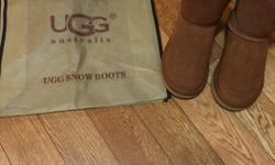 UGGS Boots for sale. New Only worn once. Size 5 Asking $60