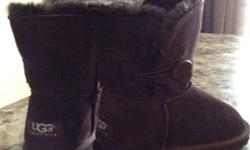 Brand new kids uggs, size 34, short, chocolate brown. This ad was posted with the Kijiji Classifieds app.