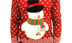 Ugly Christmas Sweaters $2.00 - $5.00! At CCA, 404 May St, N. Open, Mon-Sat 10am-5pm.