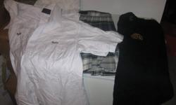 1. Regi uniform 3 blouses one kilt one sweater all for 75.00 obo 2. beavers and scouts uniform 20each