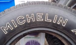 Michelin Snow Tires,  ARE SOLD But the two Uniroyal Tiger Paws P205/75R15 All Season Tires M+S are Still for sale