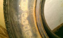 Four P245/75R16 109Q M+S tires studed, Like new condition 99% Tread.  450 O.B.O 250-962-6219
