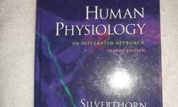 The books are very helpful if you need them for school, or even if you just want to learn more. They are in very good condition. Need gone A.S.A.P, make me an offer   - Human Physiology, An intrgrated approach - Biology fifth addition - The Story and Its