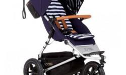See http://www.pokkadots.com/mountain-buggy-luxury-collection-urban-jungle-stroller?gclid=CMG7oaylj88CFYiBfgodWZIJbA High-end stroller, needs one tire to be pumped up. We are a refugee sponsor group and offer this great deal to someone who can use this