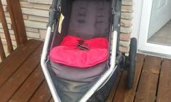 Lovely Grey & red Urbini Stroller, very good condition, not even 2 years, one owner was asking $80 but must sell as we are moving. Please call 613 878-8179 MOVING Pick up today.