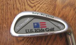 """US Kids Golf Wedge. Great club for a toddler just learning to play. Approx. 24"""" long. Right-handed."""