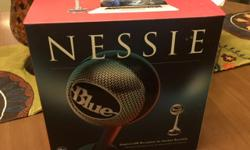 Paid $150. Blue Microphone Nessie Adaptive USB condenser microphone. The 1st USB mic that delivers instantly enhanced sound for any situation. Get polished music demo's, pod casts, interviews, youtube broadcasts and more instantly.
