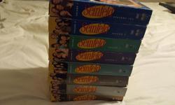 Used DVD Television Complete DVD sets for sale Corner Gas - Season 1 - 6 - $35 Corner Gas - The Movie - $5 Seinfeld Season 1 - 9 DVD's - $60 Danny George 819-319-0806 Ottawa, Ontario