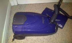 All attachment included. In decent condition, pole does have some tape on it cause of a crack, but the vacuum still works well. Only posted because we got a new vacuum as a gift or I'd still be using it Includes apprx 6 bags I still have that go with the