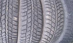 LOOKING FOR SNOW TIRES? LOOKING FOR A BETTER DEAL? LOOK NO LONGER. I HAVE A LARGE SELECTION OF USED TIRES THAT I AM SELLING, I HAVE MUD AND SNOW TIRES AS WELL AS ALL SEASONS STARTING AT ONLY $45.00 PER TIRE. LOTS OF 13'', 14'', 15'', AND 16'' TIRES - ALSO