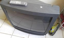 Used television comes with remote in working condition. Pick up only 108 Cambridge Place call or email if interested