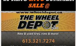 USED ALL SEASON SALE NOW ON @ THE WHEELDEPOT+ HERE IS A SMALL LIST OF USED ALL SEASON/SUMMER TIRES IN STOCK NOW.. GET THEM EARLY AND SAVE $$$$$$$$ 175/65/14 20+ various brands 185/65/14 20+ various brands 195/65/15 40+ various brands 195/55/15 15+ various