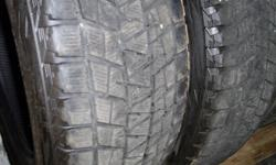 I HAVE A FEW SETS OF GREAT QUALITY USED TIRES FOR SALE. 225/50R18 MUD AND SNOW AS WELL AS ALL SEASON. I ALSO HAVE A FEW PAIRS OF TIRES 235/65R18, 275/65R18. INSTALLATION AND BALANCING IS AVAILABLE FOR ANY SIZE TIRE ON ANY RIM. I HAVE OTHER SIZE CAR AND