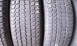 I have several sets and pairs of used tires for sale starting at only $45.00 per tire. Do you need better tires for the winter? I have tires available for just about any car truck or van in 13'', 14'', 15'', 16'', 17'', 18'', 19'', 19.5'', 20'' and 22''