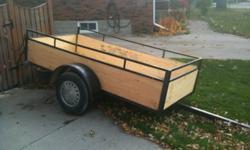 New box New Tires. TILT action trailer. Telephone - 519-466-5890