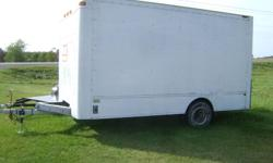 16X8 tandem axle utility trailer for sale or trade. asking $1200 905 401 5989 Shawn