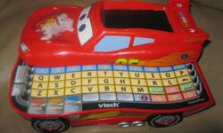 V-tech Disney CARS 2 (Lightning McQueen) Learn & Go Excellent for road trips!! Learn about letters, numbers & games to play ONLY $10 can meet in west end of ottawa (kanata) or pickup in Constance Bay