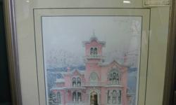 Valentine's Sweets by Walter Cambell Limited Edition Professionally Framed by George's Galleria